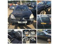 Renault Clio 2004 1.2 3 Door Black Manual Petrol (front bumper) all parts available