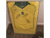 Signed Brazil shirt