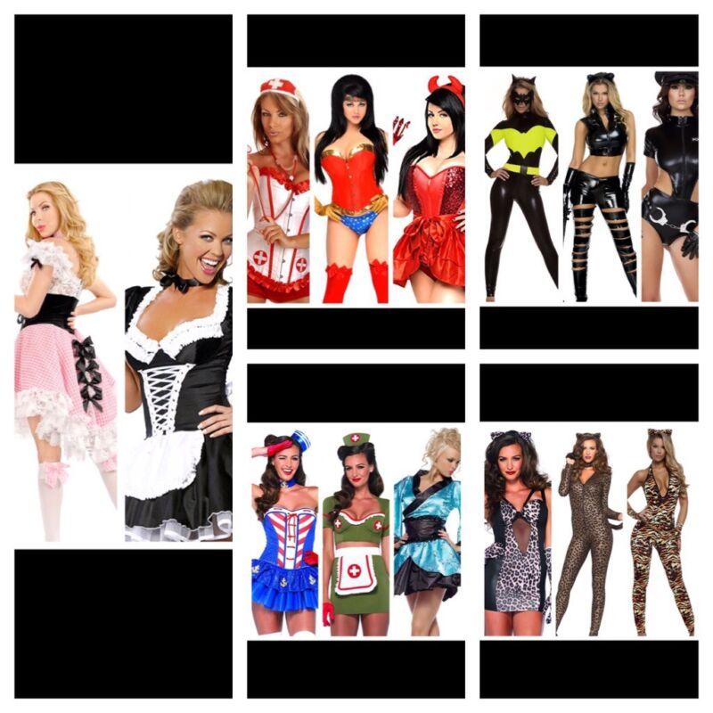 New Wholesale Lot 15 Sexy Stripper Halloween Costumes Leg Avenue Daisy Corsets