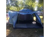 Khyam airbeam 4xl drive away/tent . Excellent condition. Hardly used. Only 2 camping hols. A must !!