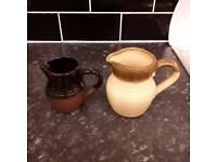 Vintage English TG green jugs antique