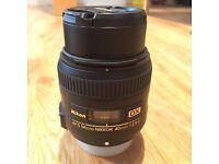 Nikon MACRO LENS AF-S 40mm f/2.8 G DX Compact NIKKOR Lens RRP £209