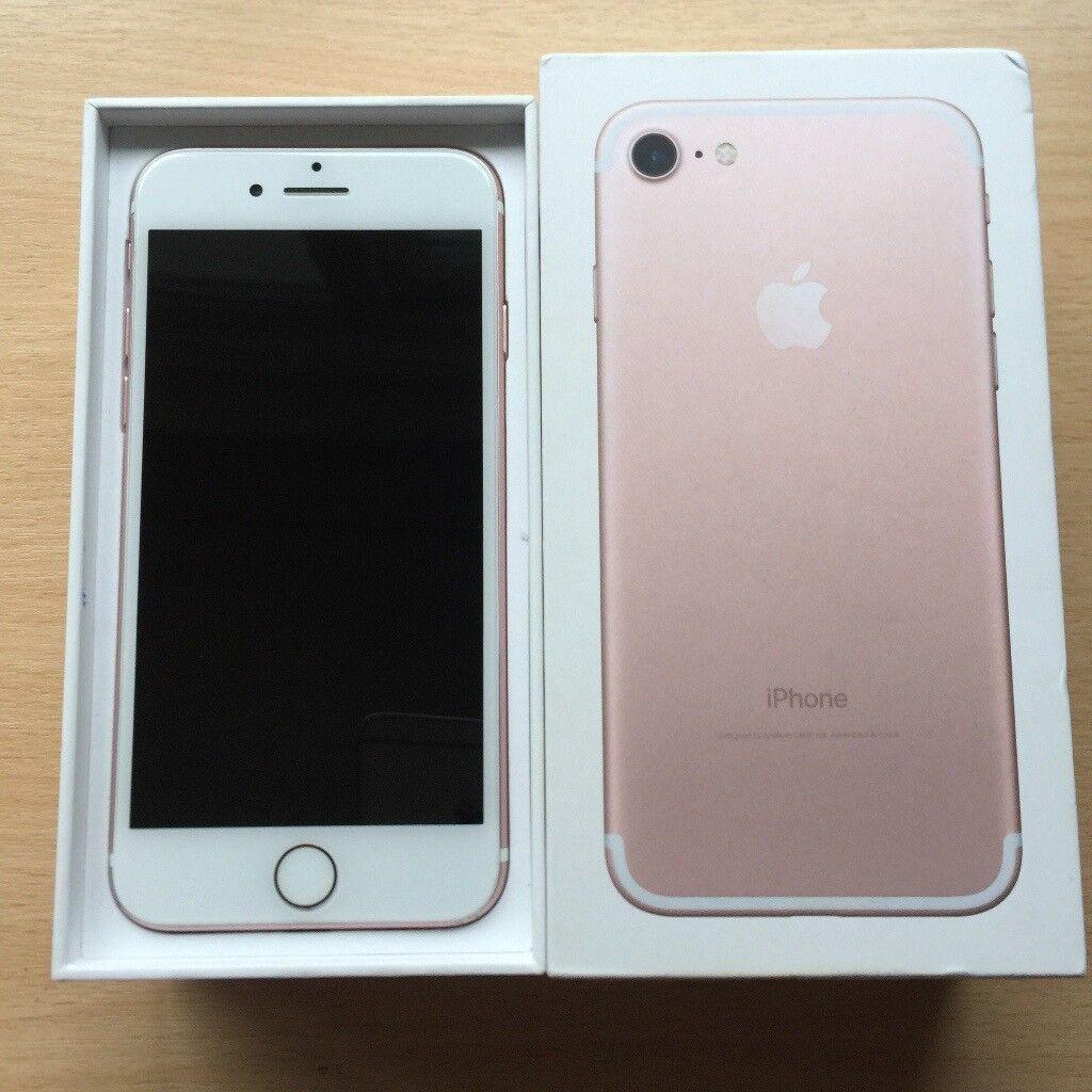 Rose Gold iPhone 7 - 32GB
