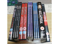 Complete Battlestar Galactica DVDs