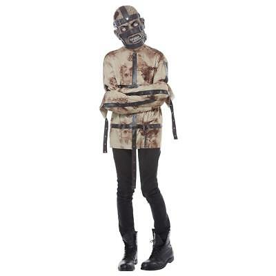 NEW TEEN BOYS TOTALLY GHOUL PSYCHOPATH COSTUME DRESS UP HALLOWEEN SIZE - Psychopath Halloween Costume