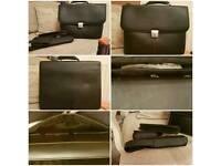 Leather laptop/brief case