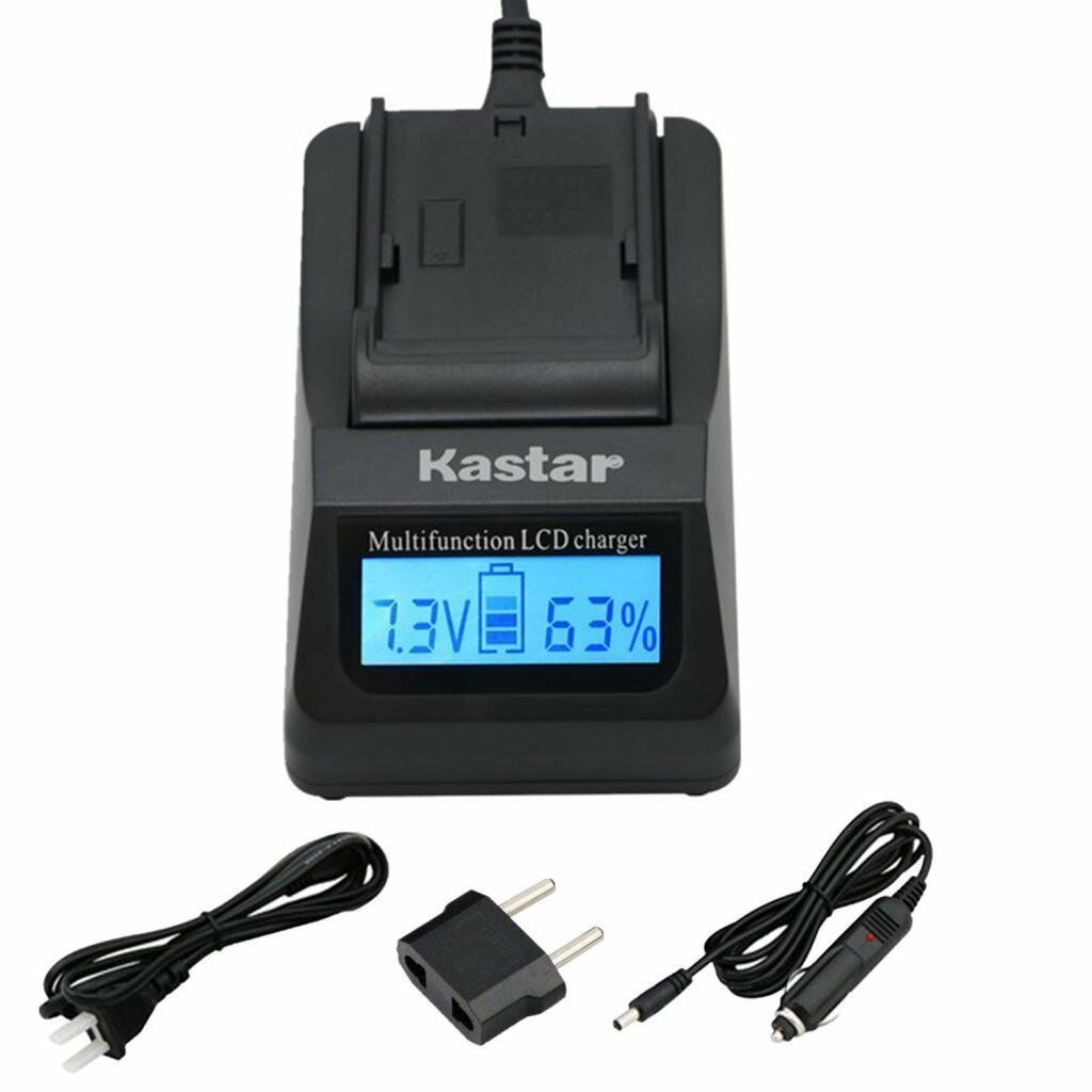 Kastar Np-fv100 Battery & Fast Charger For Sony Dcr-sx45 ...