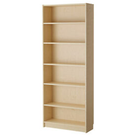 Ikea Billy Bookcase (3 for sale) in Birch. Good conditon. Can deliver in Newport area.