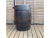 Wooden Barrel Fridge
