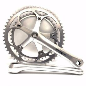 Shimano 600 Ultegra crankset 172.5mm 53T/39T high quality lightweight double chainrings chainset