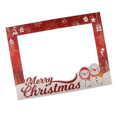 Fotorahmen Photo Booth Props Foto Requisiten für Weihnachten Hochzeit und