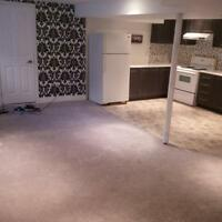 Newly Renovated 1 Bedroom Basement Apt for Rent $800 410/Bovaird