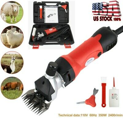 Sheep Goat Shears Clippers Electric Animal Shave Grooming Farm Supplies