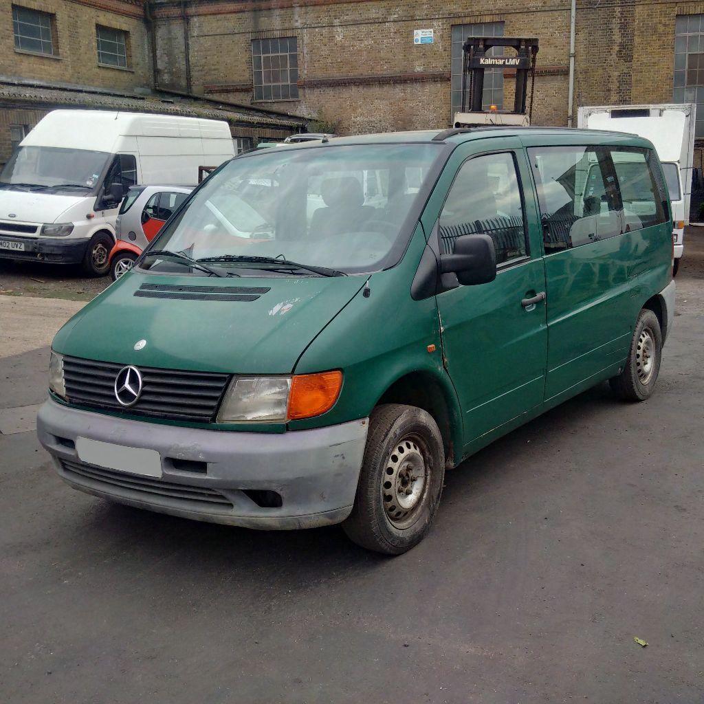 Left hand drive Mercedes Benz VITO 108 Diesel 9 seats mini ...