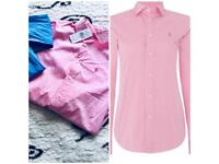 #HOT#2 LAST Colours NEW GENUINE with TAGS ladies RALPH POLO LAUREN shirts