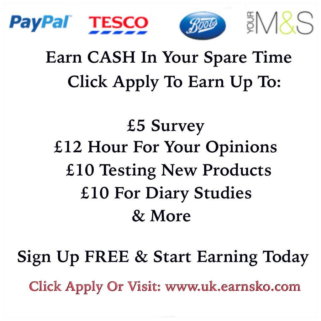Paid Surveys UK - The home of online paid surveys