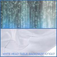 Head table backdrops available for RENT