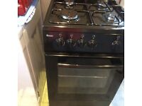 Black Gas Cooker Excellent Condition 2month old First to see will buy no offers