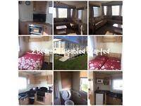 2 bedroom disabled adapted caravan