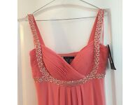 Coral Bridesmaid dresses * Brand new with tags