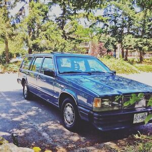 1986 volvo 740 GLE wagon imported from BC