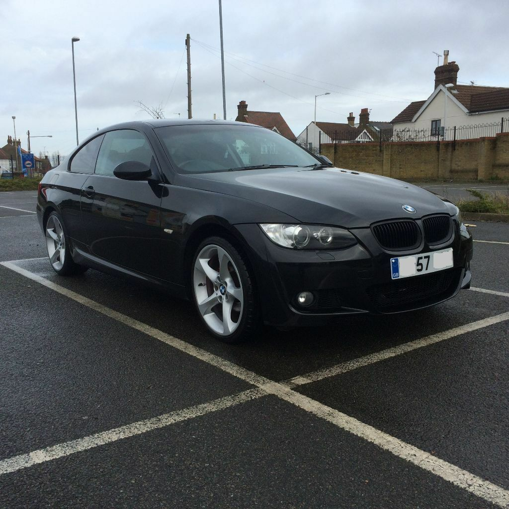 BMW 320i Coupe E92 Black M Sport Bodykit 170bhp 6 speed ...