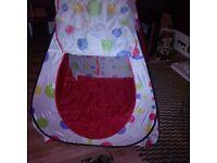 Pop up spotty tent NEW
