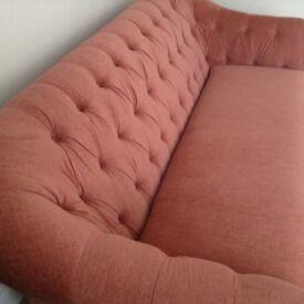 Next harrington sofa 4 months old desert sand colour