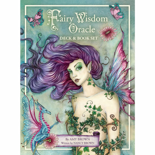Fairy Wisdom Oracle by Amy Brown NEW IN BOX Boxed Set Deck and Book (2020)