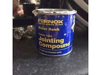 Jointing Compound 50% used approx.