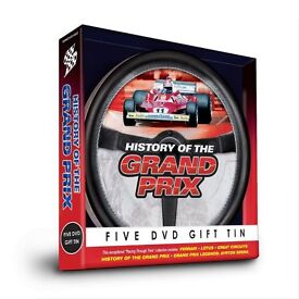 History of the Grand Prix Gift Tin [DVD]