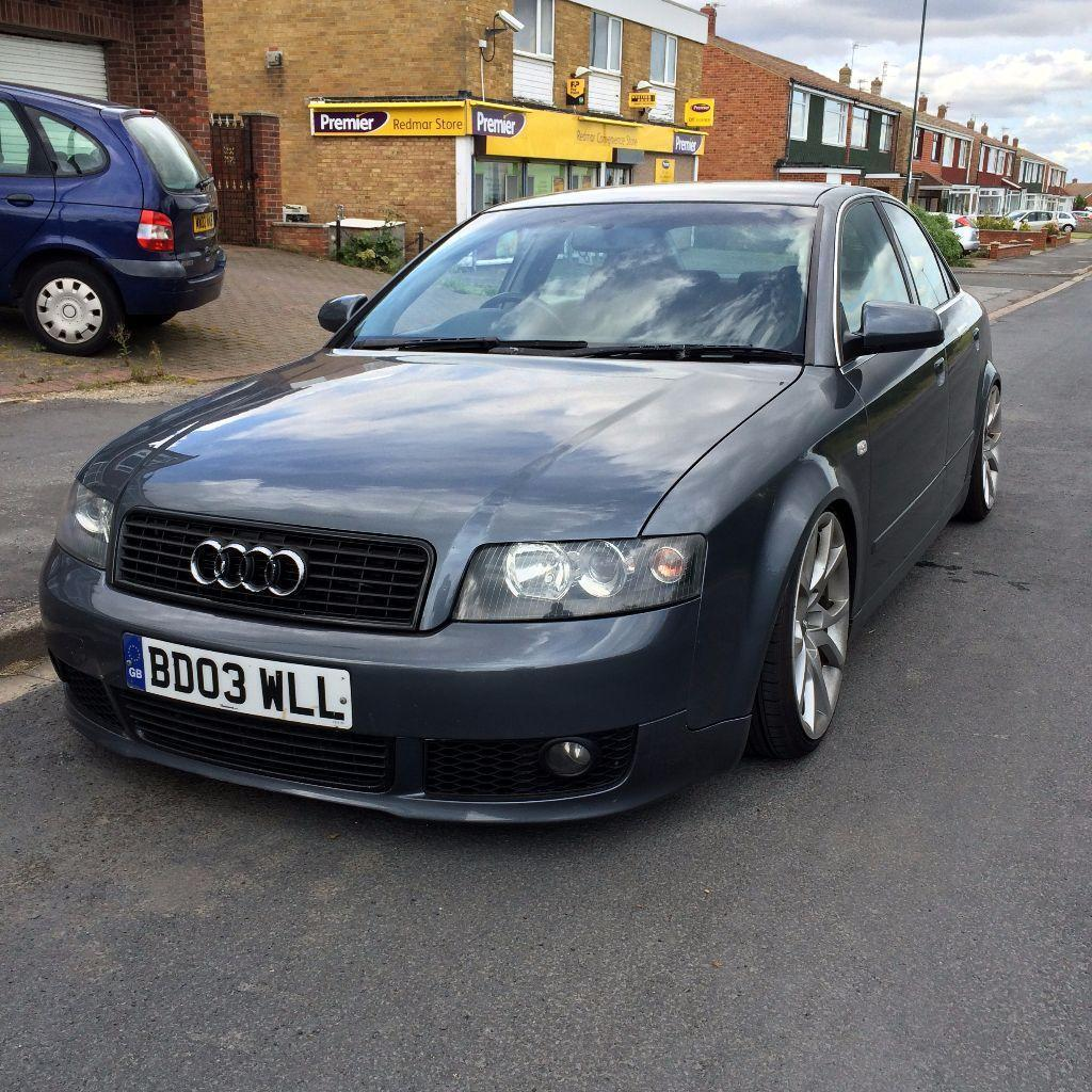 audi a4 b6 1 9 tdi sport sline bodykit lowered on audi. Black Bedroom Furniture Sets. Home Design Ideas