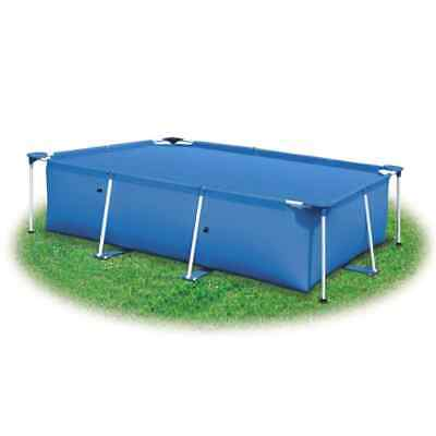 vidaXL Cubierta de Piscina Rectangulo PE Azul 488x244 cm Toldo Protector Funda