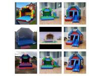 Bouncy castle Garden games hire service