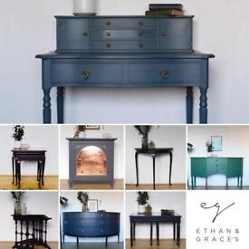 Beautiful hand painted furniture