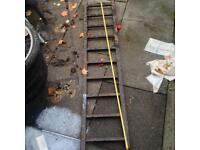 Recovery ramps ladder style beaver tail heavy duty 6ft long