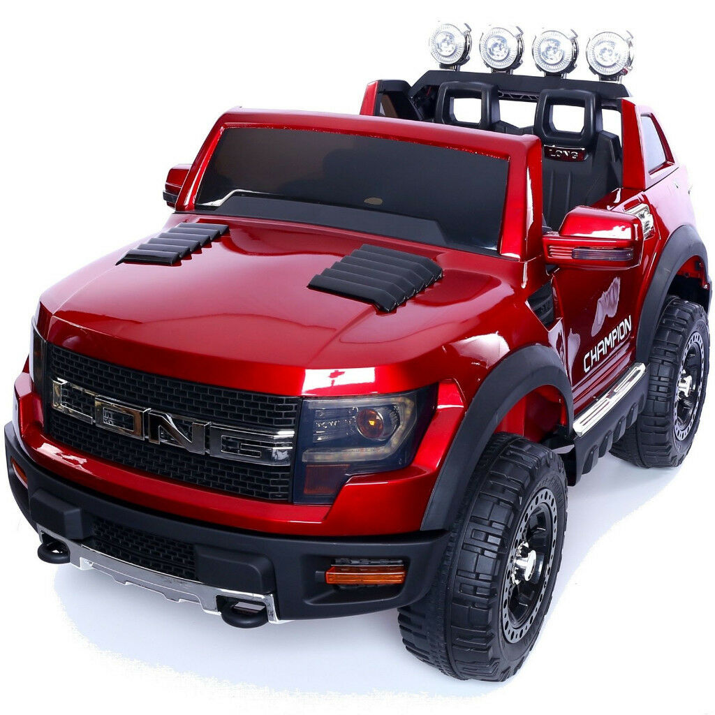 12v Children S Electric Ride On Ford Ranger Wildtrak Style Jeep 4