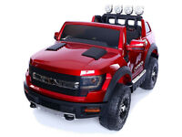 12v Children's Electric Ride On Ford Ranger Wildtrak Style Jeep - 4 Colours