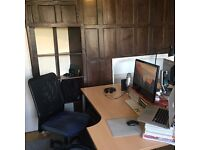 Large Desk Space in ground floor office Guildford centre, all bills, wifi, cleaning included