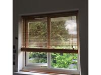 Wooden effect blinds