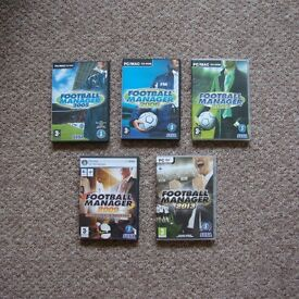Football Manager PC Computer CD Video Game Collection