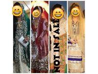 Asian bridal lengha dress wedding