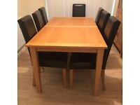 High Quality Wooden Dining Room Table & Chairs for Sale