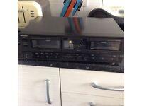 Technics HX pro double tape deck