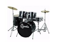 RIDGEWOOD DRUM KIT WITH STOOL AND SOLAR RIDE CYMBAL