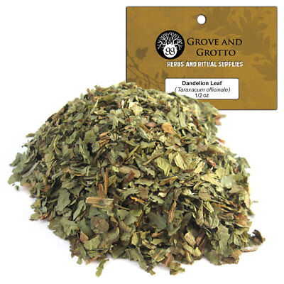 Dandelion Leaf 1/2 oz Package Ritual Herb C/S by Grove and Grotto