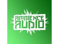 MOBILE DJ DISCO HIRE - AMBIENCE AUDIO