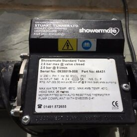 Shower Pump Stuart Turner Showermate 2.6 Bar std twin