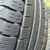 Set of 4 tires for sale size 245/50R/20