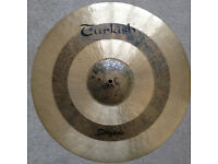 """Turkish Ride Cymbal 21"""" - like new"""